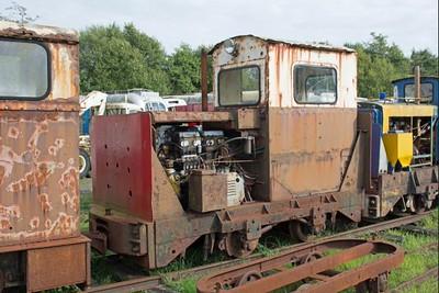 "Ruston Hornsby WN 402986 ""No LM 174"" at Cavan & Leitrim Rly, Dromod, Co. Leitrim  29 September 2014"
