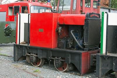 "Hunslet WN 7340 (rebuild of HE 2239) ""No 1"" at Cavan & Leitrim Rly, Dromod, Co. Leitrim  29 September 2014"