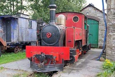 "Kerr Stuart WN 3024 ""No 1 Dromod"" (rebuilt by A Keef in 1993) at Cavan & Leitrim Rly, Dromod, Co. Leitrim  29 September 2014"