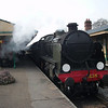 U (3)1638 arrives into Horstead Keynes on 27/03/13 with the 09 45 Sheffield Park to East Grinstead
