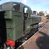 Didcot's 3650 ready for the off - at Horstead Keynes on 30/10/12