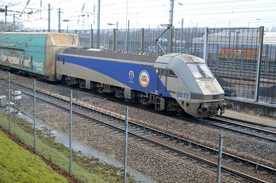 Channel Tunnel Railway Stock