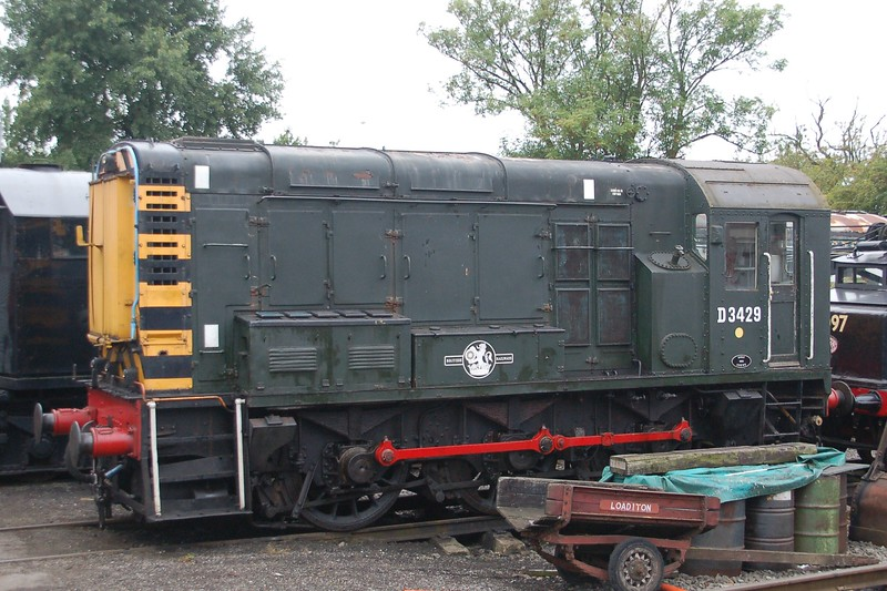 D3429 - Chasewater Railway - 10 September 2017
