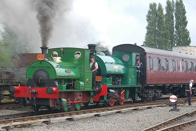 P 2012 Teddy & WB 2648 Dunlop No.6 - Chasewater Railway - 10 September 2017