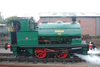 WB 2648 Dunlop No.6 - Chasewater Railway - 10 September 2017