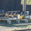 Geismar 5E/0006 (99709 901028-3) & Trailer (99709 011390-0) - Chasewater Railway - 6 May 2018