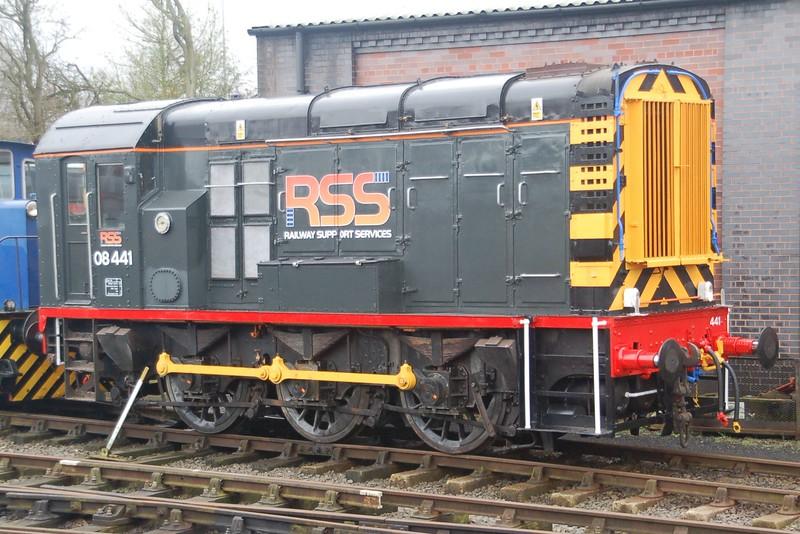 08441 - Chasewater Railway - 31 January 2016