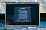 """This was not a screen that was expected to appear during the DAS trial runs as it is the """"delay attribution"""" screen where the driver can input the reason for the train being held-up and in this case it means the trial run is of no use... The delay is highlighted as """"signal"""", though in this case perhaps """"other"""" would be more appropriate and make up your own entry! After this, the train eventually continued, now stuck behind 1H49 until 5H48 could overtake it at Princes Risborough. 16:02:49, Sunday 27th January 2013. Digital Image No. GMPI14177."""