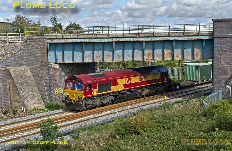66122, Bicester Gavray Junction, 6A49, 17th September 2015