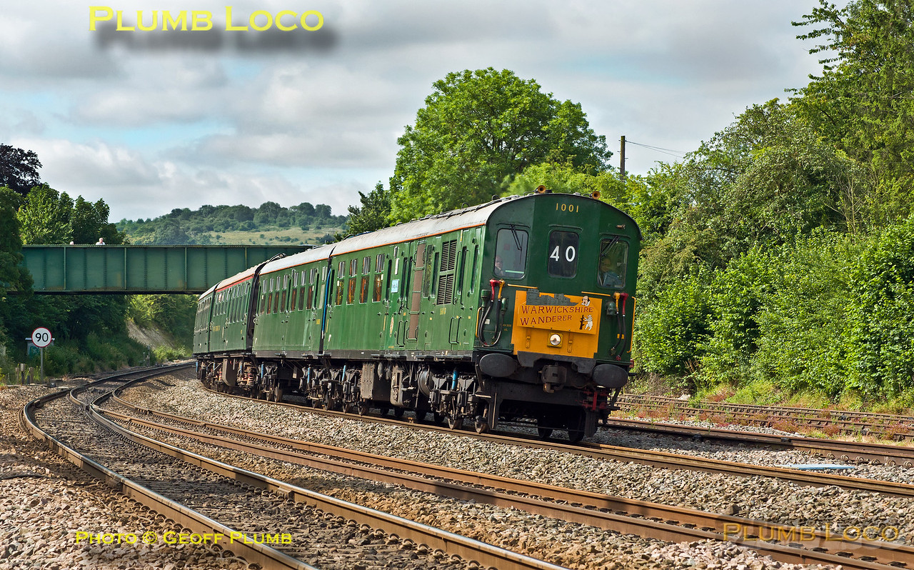 Thumper 1001, Princes Risborough, 1Z40, 4th July 2015