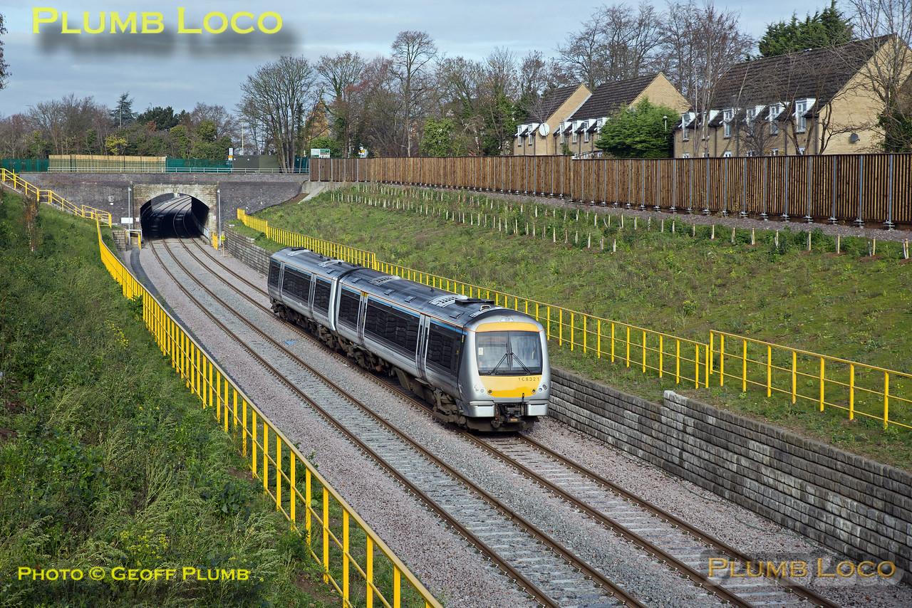 168 321, Wolvercote Tunnel, 5Z20, 23rd November 2016