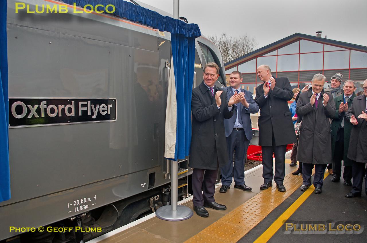68010 Naming at Oxford by Michael Portillo, 12th December 2016