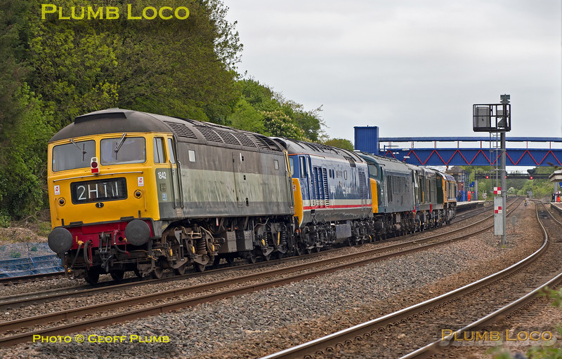 66741 + Convoy, Princes Risborough, 0Z41, 9th May 2017