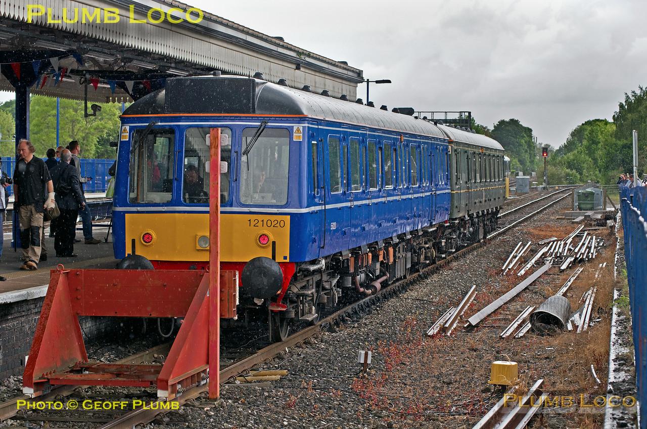121 020 & 121034, Princes Risborough, 2Z92, 19th May 2017
