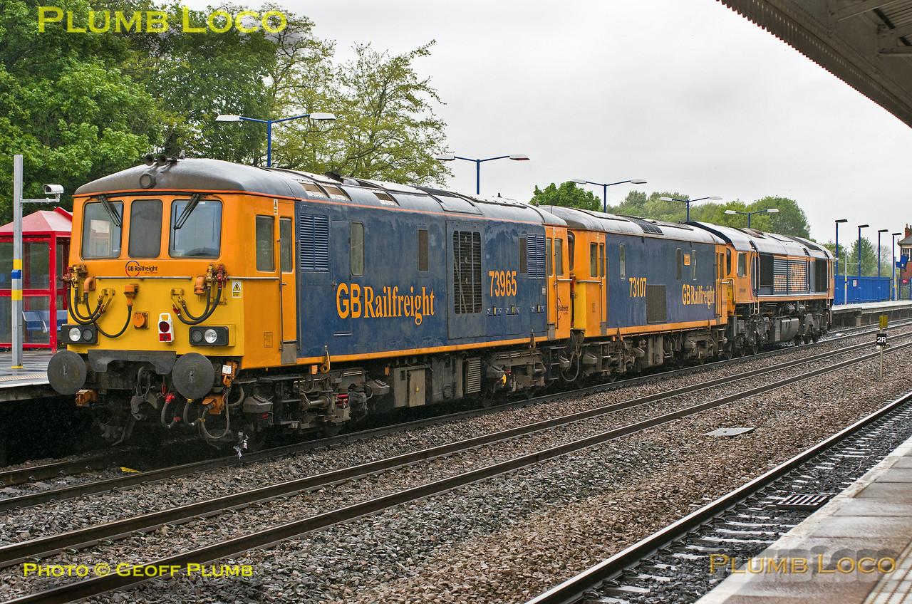 66771, 73107 & 73965, Princes Risborough, 0Z71, 15th May 2017