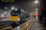 68011, Bicester Village, 2T03, 12th December 2016, first Chiltern loco-hauled into Oxford