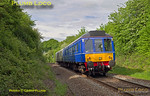 121 034 & 121 020,  Little Kimble, 2A46, 19th May 2017