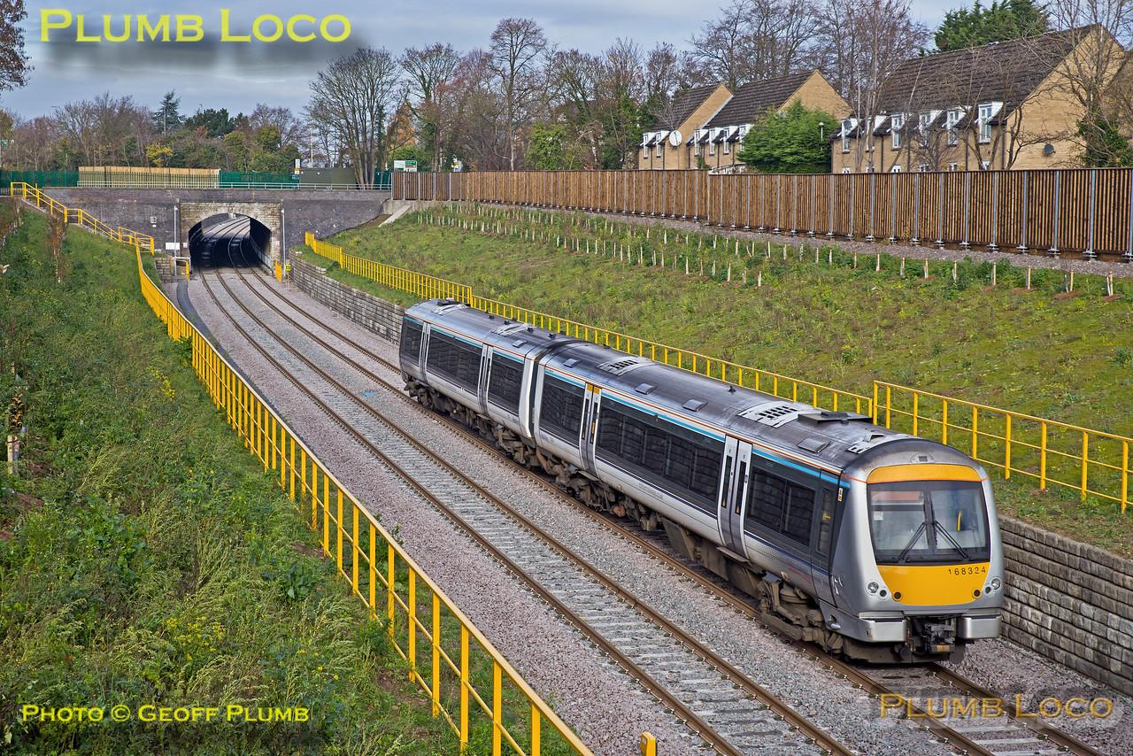 168 324, Wolvercote Tunnel, 5Z19, 23rd November 2016