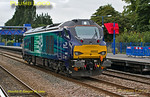 "68002 ""Intrepid"", Princes Risborough, 0J68, 5th August 2014"