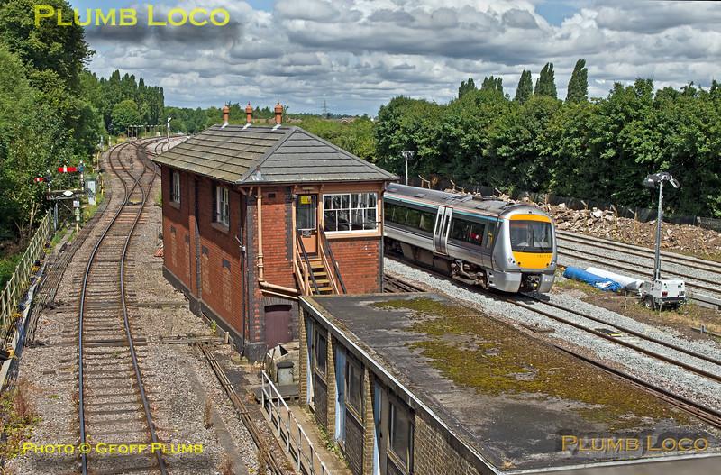 Banbury North Signal Box, 29th July 2016