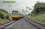 DMU, Thame Junction, 3rd September 1988