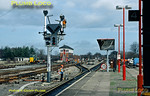 Signal Dismantling, Princes Risborough, 3rd March 1991