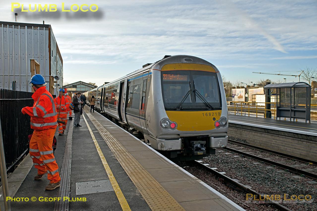 168 218, Oxford Platform 1, 1T11, 11th December 2016