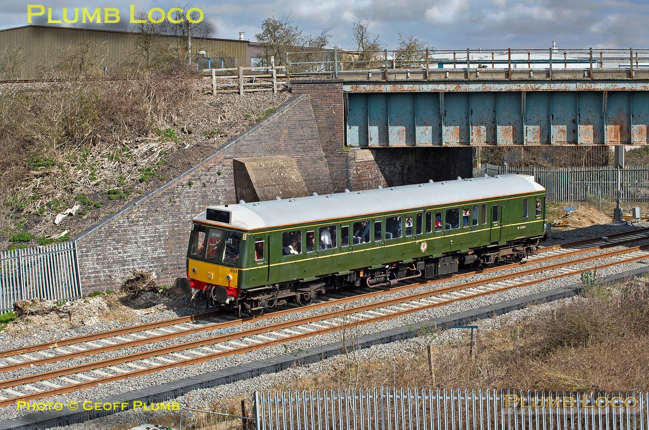 121 034, Bicester Gavray Junction, 2Z26, 31st March 2016
