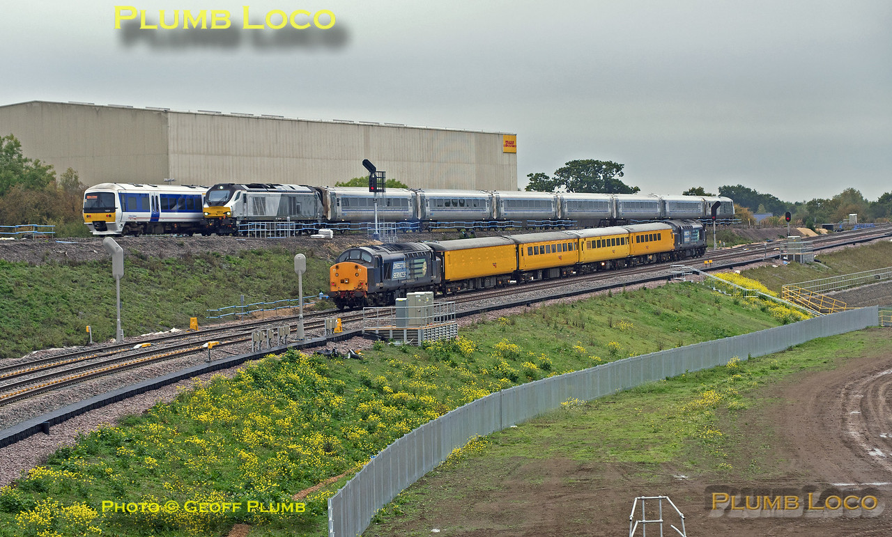 37s, 68013 & 1650xx, Bicester South Junction, 6th October 2015