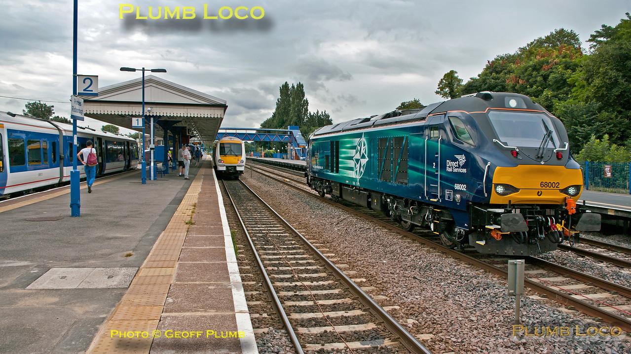 165 0xx, 172 104 & 68002, Princes Risborough, 5th August 2014