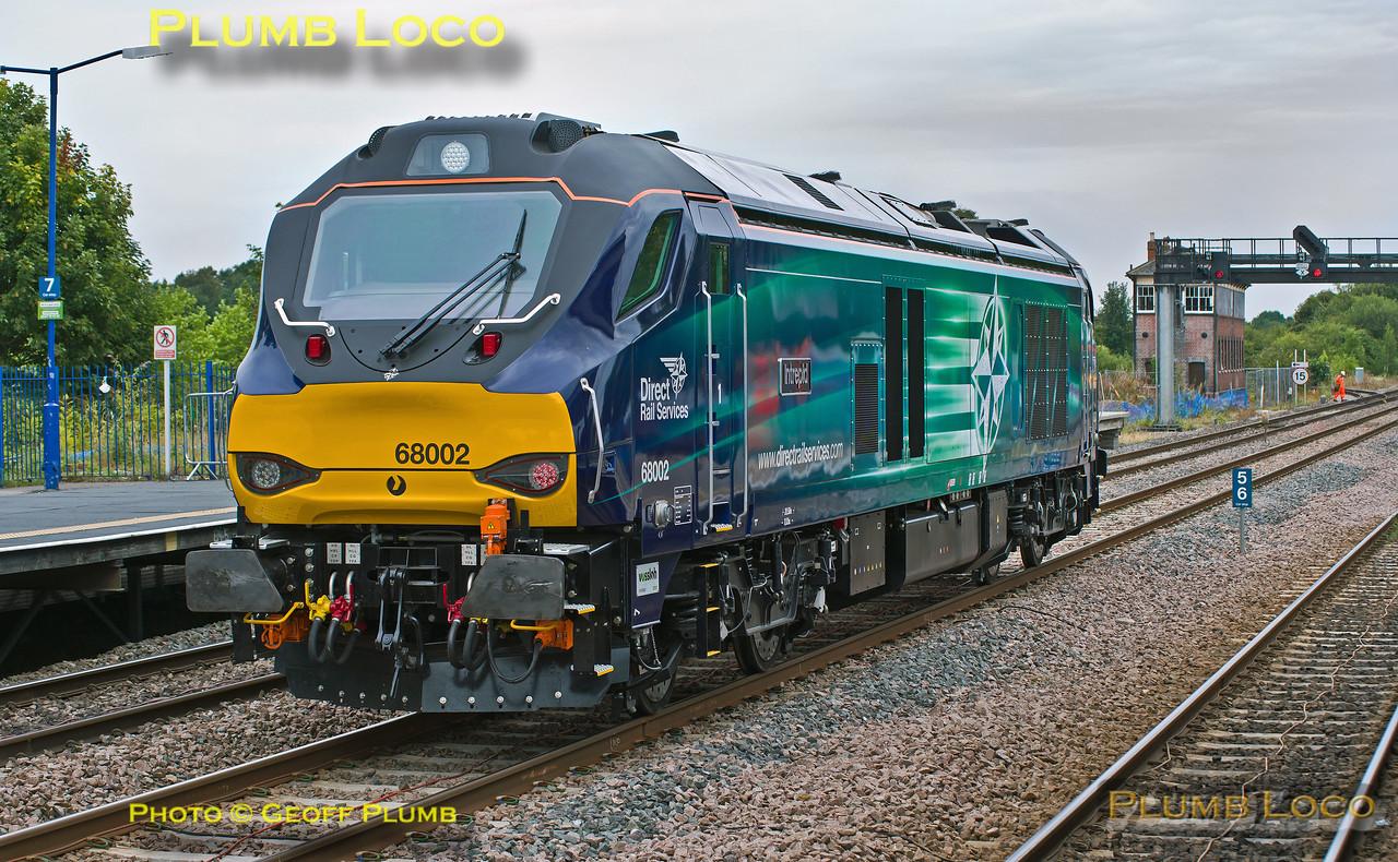"""68002 """"Intrepid"""", Princes Risborough, 0J68, 5th August 2014"""