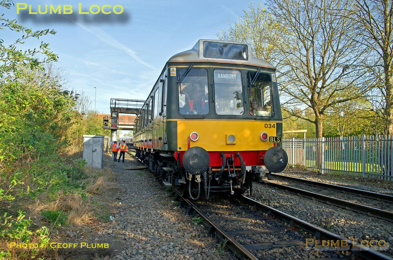 121 034, Bubble & Squeak Tracker, Aylesbury North Loop, 1Z65, 9th April 2017