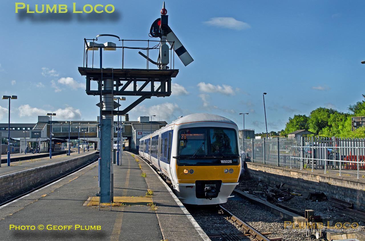 165 026, Banbury Platform 1, 2R09, 2nd July 2016