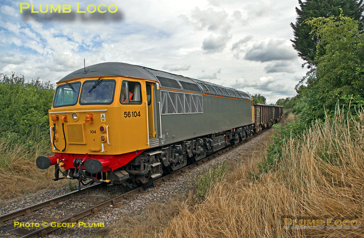 56104, Park Mill Crossing, 6Z57, 17th July 2015