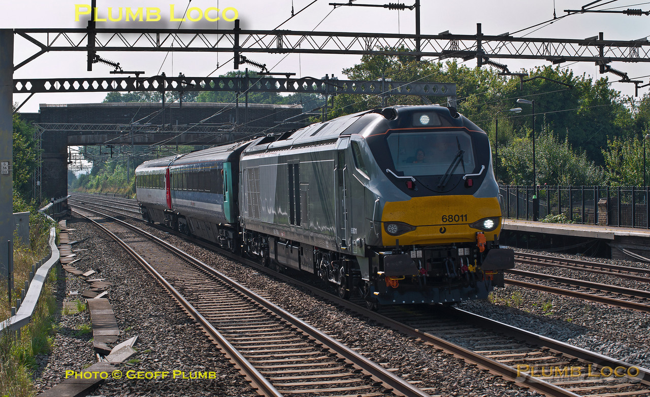68011, Cheddington, 5Z55, 8th September 2014