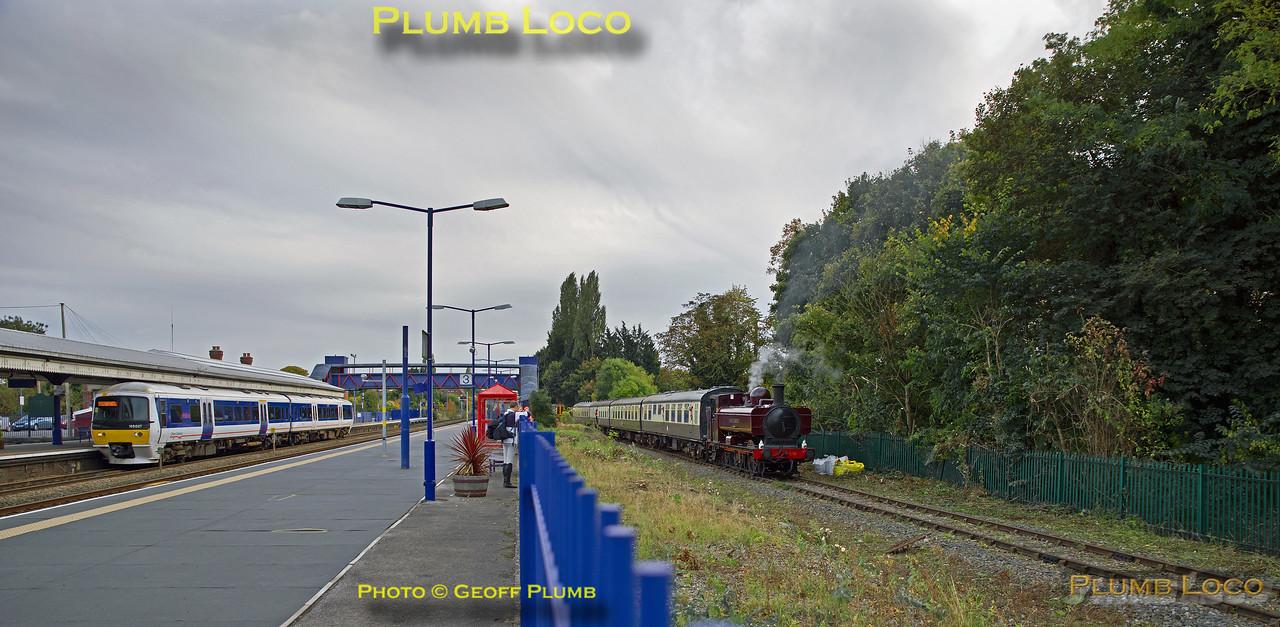 165 021 & L92, Princes Risborough, 23rd October 2016