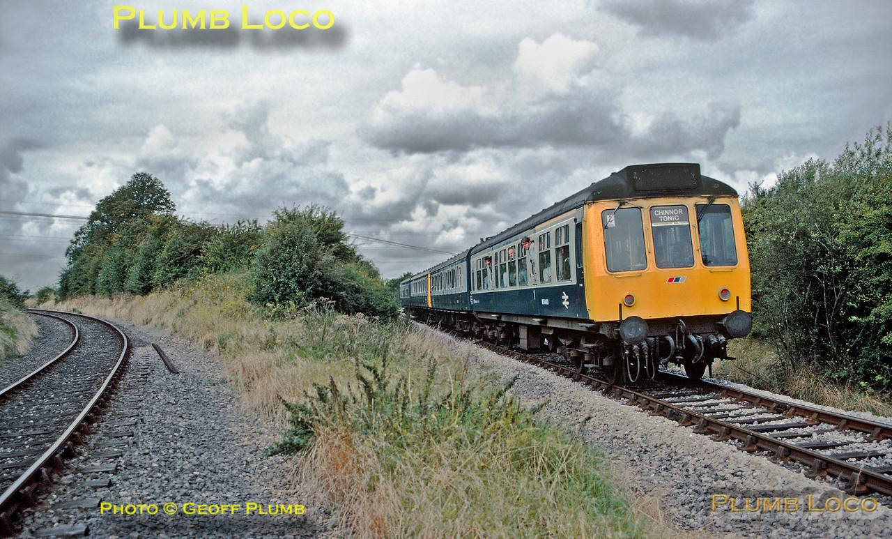 DMU, Thame Junction, 3rd September 1988