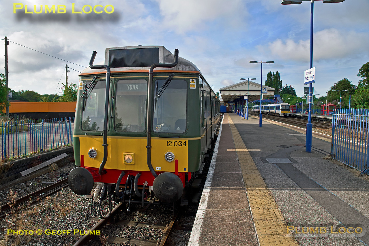 121 034, Princes Risborough, 2A12, 5h August 2016