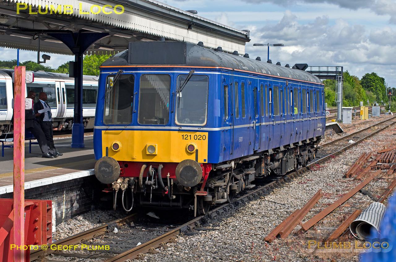 121 020, Princes Risborough, 2A20, 30th May 2015