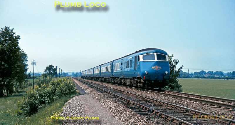 Birmingham Blue Pullman, Ilmer, 10th June 1965