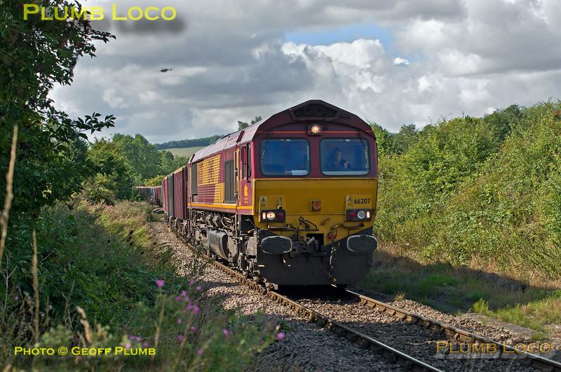 66207, Park Mill,  Princes Risborough, 6M48, 28th August 2015