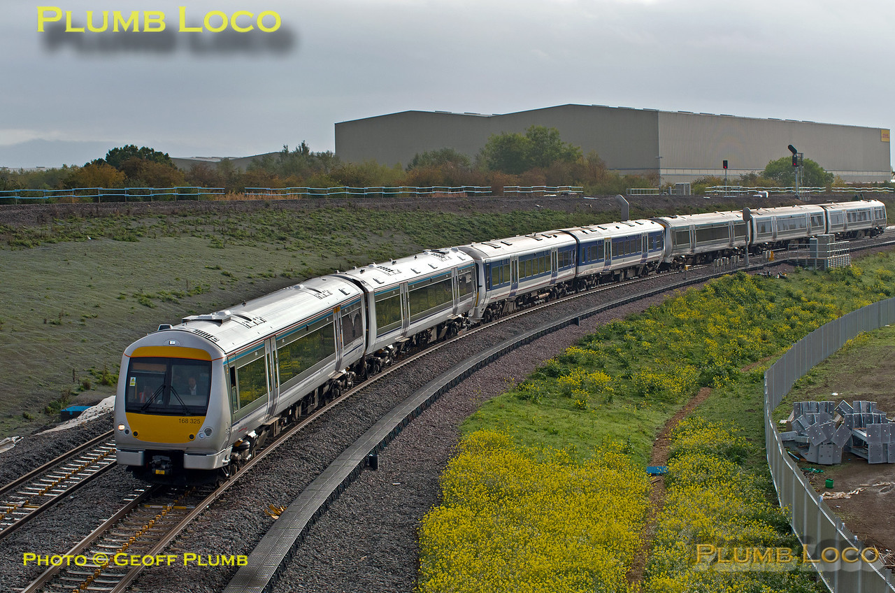 168 325, 165 002, & 168 218, Bicester Chord, 5T03, 6th October 2015