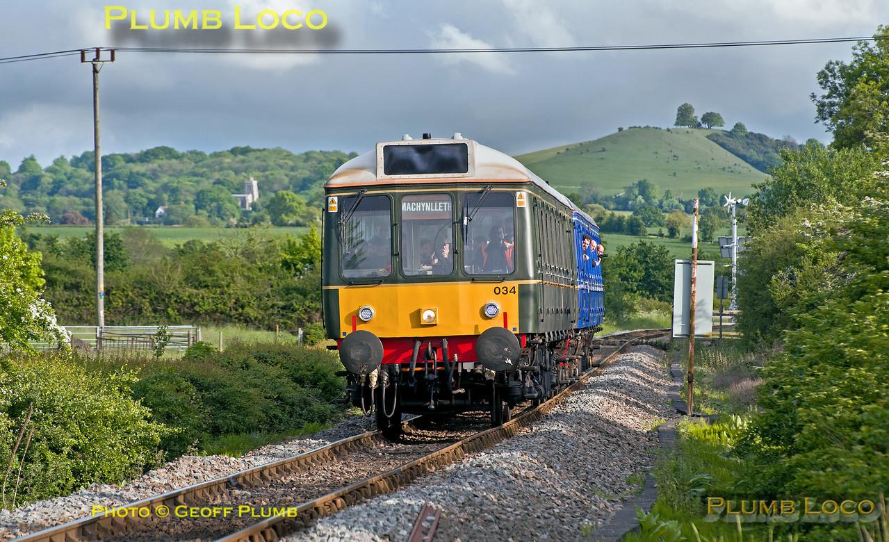 121 034 & 121 020, Marsh Crossing, 2A50, 19th May 2017