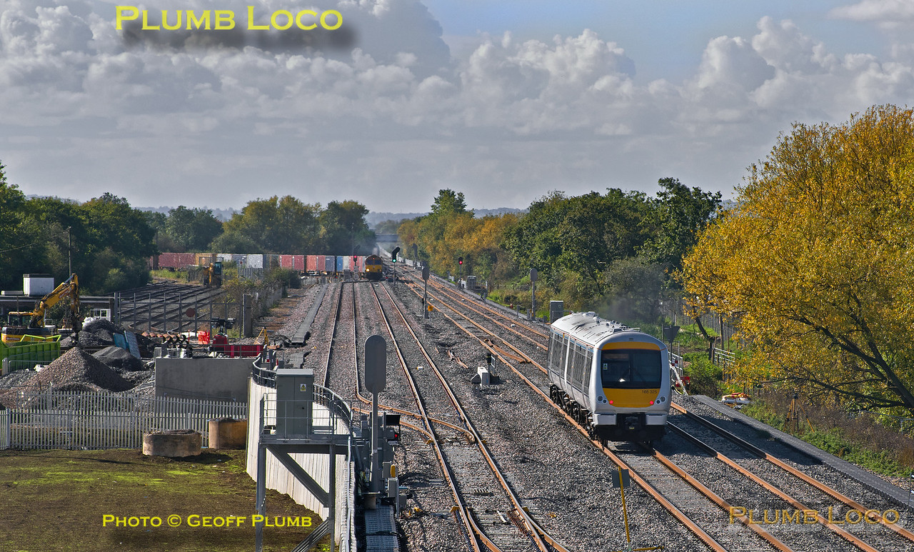 168 325, Bicester C.O.D. Sidings, 5Z08, 8th October 2015