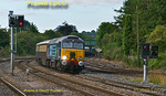 57309 & 57308, Princes Risborough, 1Z90, 16th August 2014
