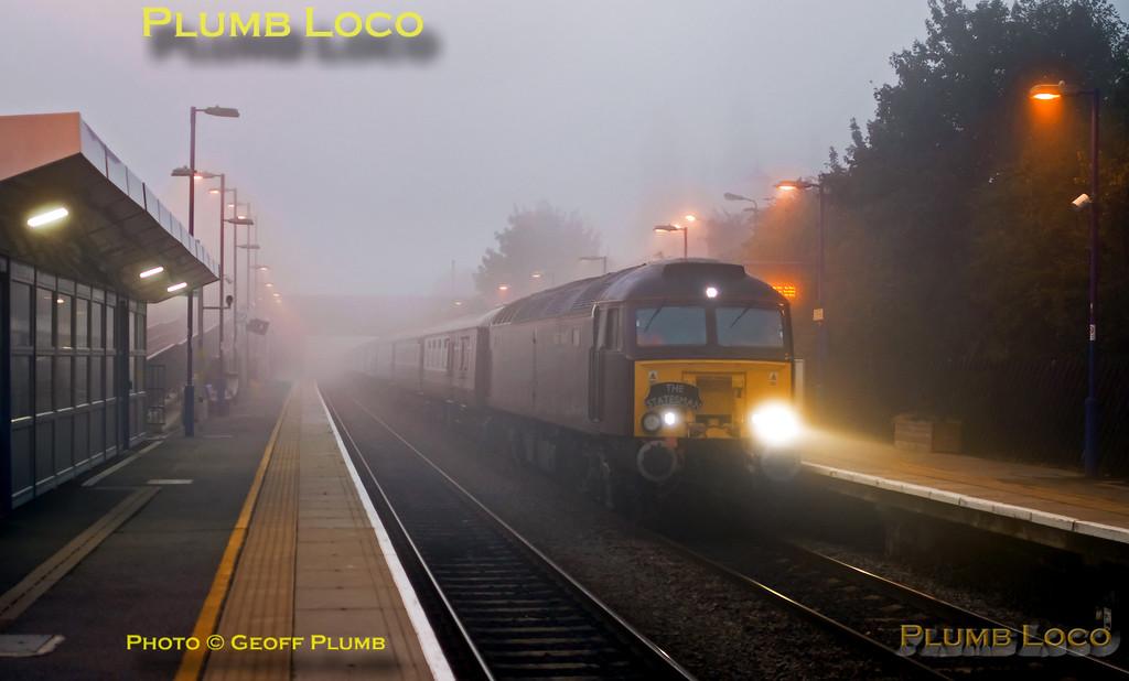 57316, Haddenham Station, 1Z10, 19th September 2015