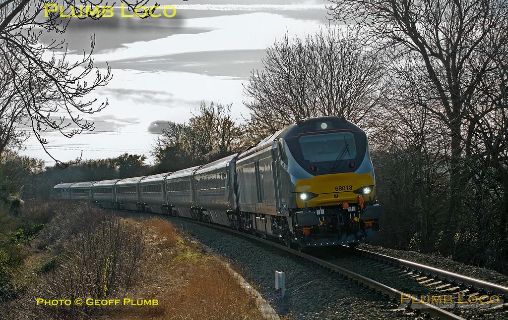 68013, Princes Risborough, 5N68, 17th January 2015