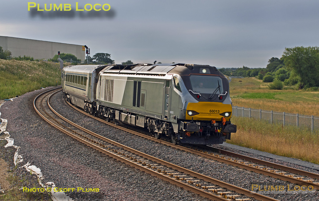 68013, Bicester Chord, 5T05, 1st August 2016