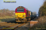 67001 is approaching the stop at Haddenham & Thame Parkway station with 1H08, the 06:53 from Banbury to Marylebone LHCS service at 07:21 on the lovely morning of Friday 25th March 2011. Digital Image No. GMPI8311.