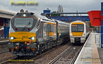 68012 & 168111, Princes Risborough, 12th December 2014